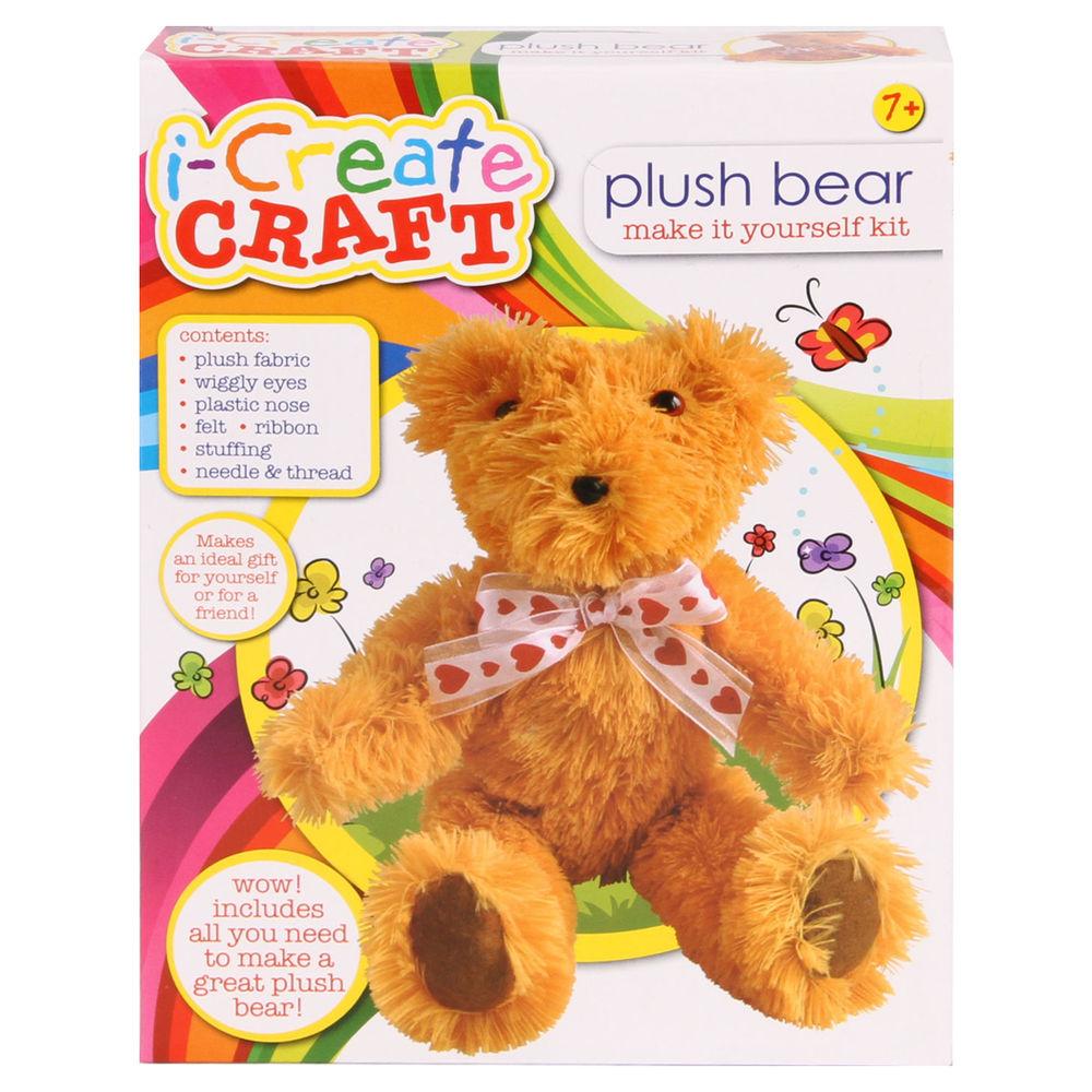 i-Create Craft Plush Bear Kit