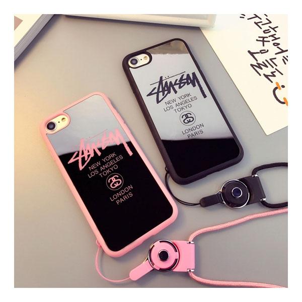 ステューシー iphone Xケース ブランド アイフォン8 鏡面ケース  http://stuybrand.co/products/brand-stussy-iphone-