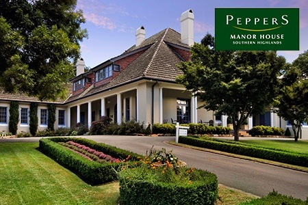 Southern Highlands: From $179 for Manor House Stay with Wine Tasting and 18 Holes of Golf at Peppers