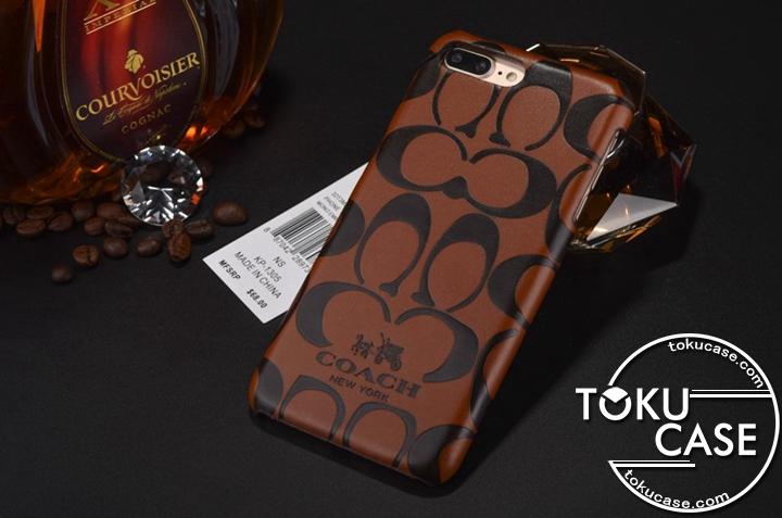 iPhone8plus ケース COACH アイフォン8ケース ジャケット型 コーチ iPhone7 iPhone7plusケース シンプル