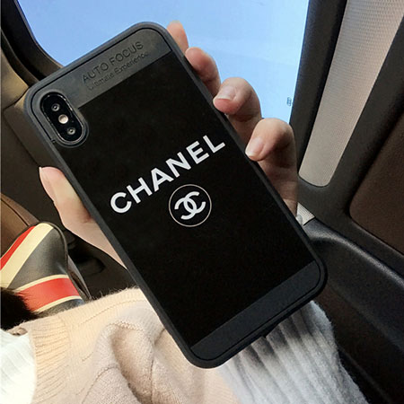 シャネル iPhoneX 鏡面ケース シンプル おしゃれ