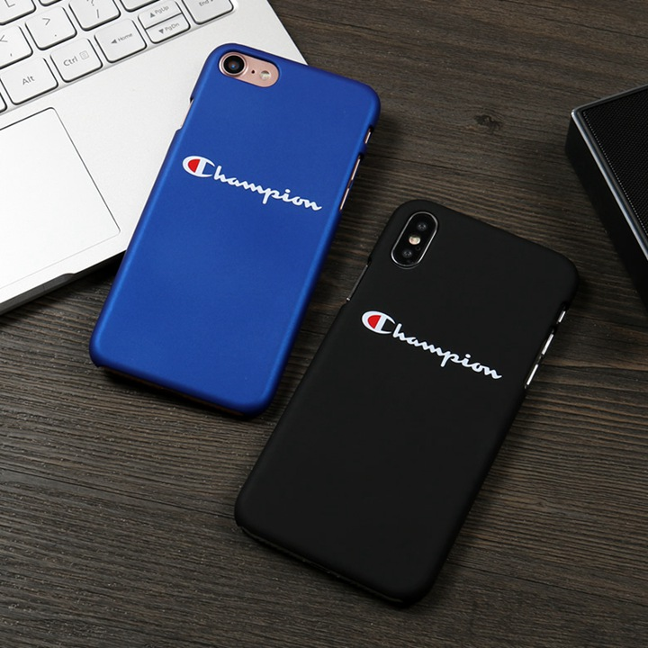 チャンピオン iPhoneXケース シンプル かっこいい Champion iphone8カバー 超薄型 CHAMPION アイホンプラスケース 高品質 長持ち仕様 滑らかな手触り