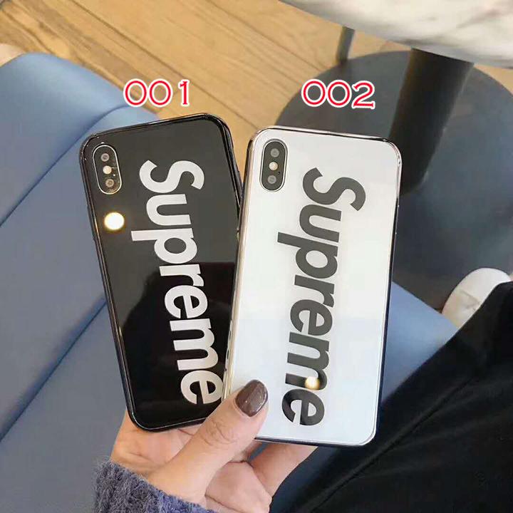 シュプリーム iphone8/7ケース カップル supreme 鏡面ケース
