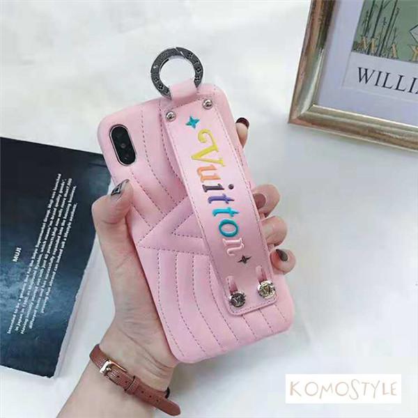Louis Vuitton iphoneXsレザーケース 可愛い アイホンXsMAX携帯カバー LV iphoneXrケース