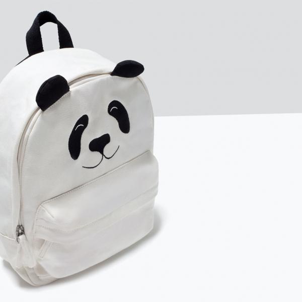 PANDA BACKPACK from Zara