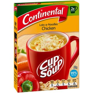Lots A Noodles Chicken Cup A Soup 2 pack   60g