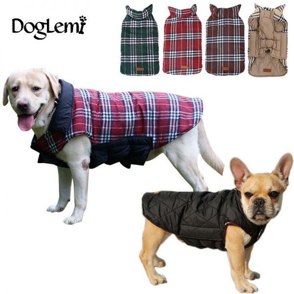 Waterproof Reversible Dog Jacket - Pet Australia