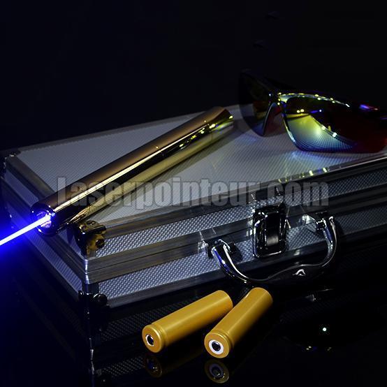 Pointeur laser bleu 5000mW surpuissant