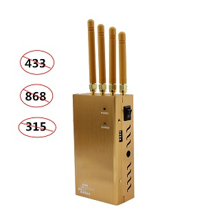 Funkstörsender Blocker 433 MHz 868 MHz und 315 MHz