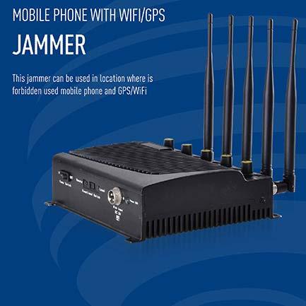 5 Bands GPS Jammer