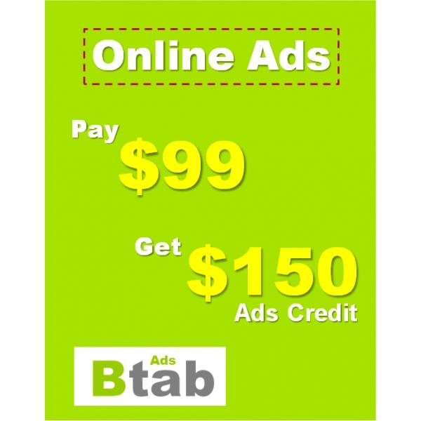 Online Ads - BtabAds.com