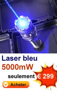 Acheter pointeur laser bleu puissant pas cher
