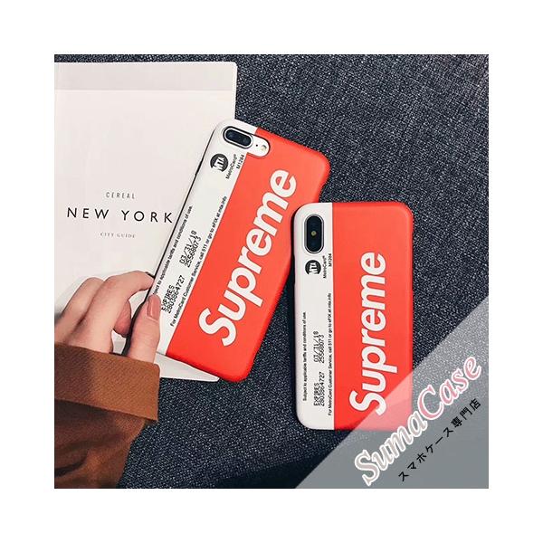 シュプリーム ブランド iPhoneXケース Supreme × MTA MetroCard 2017SS NY メトロカード コラボレーション ストリートファッション iPhone10 iPhone