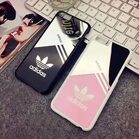 アディダス ペア iPhone7/8ケース カップル スポーツ風