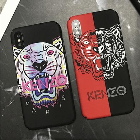 ケンゾー iPhoneX/8ケース タイガー カッコイイ